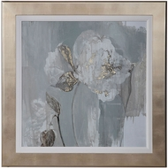Uttermost 41591 Golden Tulip Contemporary Gold Leaf and Grayish Green Framed Print