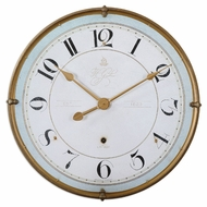 Uttermost 6091 Torriana Antiqued Gold 31 Inch Diameter Wall Mounted Clock