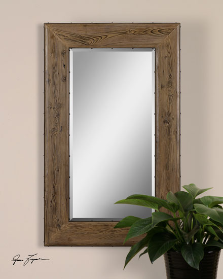 Uttermost 7053 Brantley Wooden Frame Mirror - UTT-7053