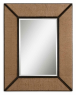 Uttermost 7614 Ripley 55 Inch Tall Natural Hemp Rope Home Mirror