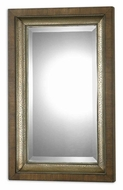 Uttermost 7619 Raton Double Framed 37 Inch Tall Zebra Wood Wall Mirror
