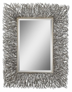 Uttermost 7627 Corbis Silver Finished 56 Inch Tall Contemporary Wall Mirror