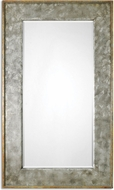 Uttermost 7691 Leron Dark Bronze With Silver Highlights & Heavily Antiqued Gold Leaf Distressed Bronze Mirror