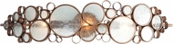 Varaluz 165B03HO Fascination Modern Hammered Ore 33.5  Vanity Light