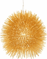 Varaluz 169M01GO Urchin Modern Gold Mini Drop Ceiling Lighting