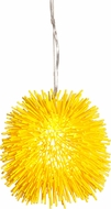 Varaluz 169M01YE Urchin Modern Un-Mellow Yellow Mini Pendant Lighting Fixture