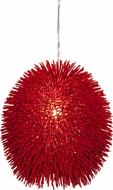 Varaluz 169P01RE Urchin Contemporary Super Red Drop Ceiling Lighting