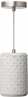 Varaluz 211M01A Pottery Perfect Modern Concrete Mini Lighting Pendant