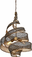 Varaluz 240P03HO Flow Contemporary Hammered Ore 18  Ceiling Pendant Light