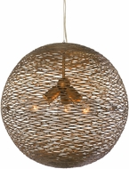 Varaluz 241P03HO Flow Contemporary Hammered Ore 18  Hanging Lamp