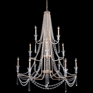 Varaluz 270C12TR Barcelona Transcend Silver Chandelier Light