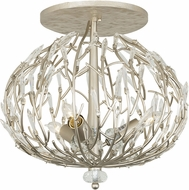 Varaluz 271S03GD Bask Gold Dust 18  Flush Mount Lighting