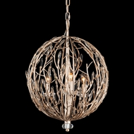 Varaluz 272P03GD Bask Gold Dust 18  Drop Ceiling Lighting