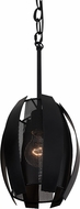 Varaluz 287M01BL Sawyers Bar Modern Black Mini Drop Lighting