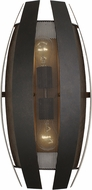 Varaluz 287W02CO Sawyers Bar Contemporary Two-Tone Copper Ore Wall Lighting Sconce