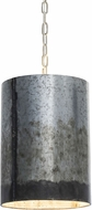 Varaluz 323P02OG Cannery Contemporary Ombre Galvanized Drum Hanging Light