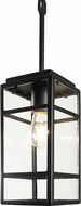 Varaluz 328M01CB Wholigan Modern Carbon mini Drop Lighting