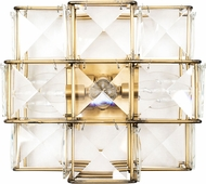 Varaluz 329W03CG Cubic Calypso Gold Wall Mounted Lamp