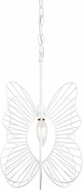 Varaluz 330M01WH Monarch Modern White Mini Pendant Lighting
