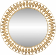 Varaluz 342A01FG Forever Contemporary French Gold Wall Mirror