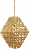 Varaluz 342F08FG Forever Contemporary French Gold Foyer Lighting Fixture