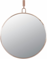 Varaluz 407A01RG Stopwatch Modern Rose Gold 30  Wall Mounted Mirror
