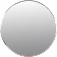 Varaluz 428A01BN Cottage Modern Brushed Nickel 30 Wall Mirror