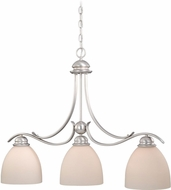 Vaxcel AL-PDD360BN Avalon Brushed Nickel Island Lighting