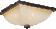 Vaxcel C0069 Descartes II Architectural Bronze Ceiling Lighting