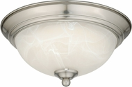 Vaxcel C0074 Satin Nickel LED Ceiling Light