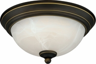 Vaxcel C0075 Vintage Bronze LED Ceiling Light Fixture