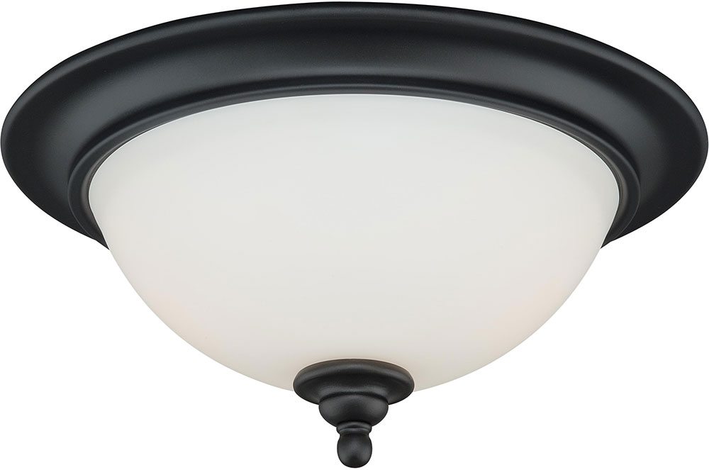 Vaxcel C0082 Grafton Oil Rubbed Bronze Flush Mount Lighting Fixture ...