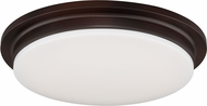 Vaxcel C0086 Apollo Bronze LED Overhead Light Fixture