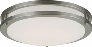 Vaxcel C0088 Horizon Satin Nickel LED Ceiling Lighting