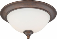 Vaxcel C0094 Hartford Satin Nickel Ceiling Light Fixture