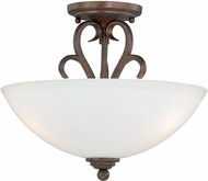 Vaxcel C0097 Hartford Weathered Patina Overhead Lighting