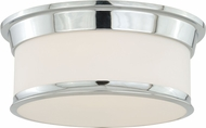 Vaxcel C0098 Carlisle Chrome Ceiling Lighting