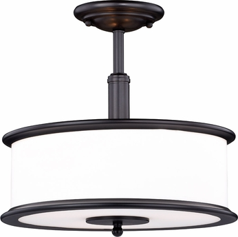 Vaxcel C0143 Carlisle Noble Bronze Ceiling Light