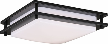 Vaxcel C0153 Horizon Contemporary Oil Burnished Bronze LED 12  Flush Mount Lighting Fixture