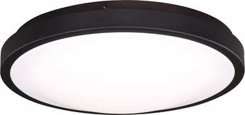 Vaxcel C0168 Aries Modern Oil Burnished Bronze LED Flush Lighting