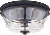 Vaxcel C0232 Toledo Modern Matte Black Ceiling Lighting
