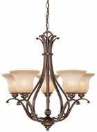 Vaxcel CH35405RBZ-B Monrovia Royal Bronze Chandelier Lighting