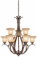 Vaxcel CH35409RBZ-B Monrovia Royal Bronze Chandelier Light