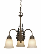 Vaxcel CH55503BBZ Yosemite Country Burnished Bronze Finish 18.5 Wide Hanging Chandelier
