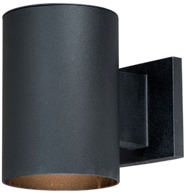 Vaxcel CO-OWD050TB Chiasso Modern Textured Black Finish 7.25u0026nbsp; Tall Outdoor Wall Sconce Light. Loading zoom  sc 1 st  Affordable L&s & Vaxcel CO-OWD050TB Chiasso Modern Textured Black Finish 7.25