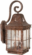 Vaxcel ED-OWD090CI Edinburgh Traditional Colonial Iron Finish 22.5 Tall Outdoor Wall Lighting Sconce