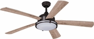 Vaxcel F0053 Tali II Contemporary Oil Burnished Bronze LED Home Ceiling Fan