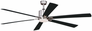 Vaxcel F0078 Wheelock Contemporary Satin Nickel LED Ceiling Fan