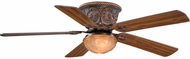 Vaxcel FN52317AR Corazon Traditional Aged Bronze Finish 12.5 Tall Ceiling Fan