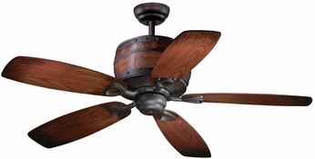 Vaxcel FN52455OBB Cabernet Oil Burnished Bronze Finish 28 Tall Ceiling Fan